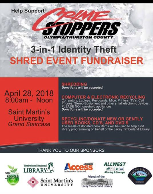 Archives 2018 | Crime Stoppers of South Sound