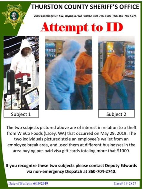 Crime Stoppers of South Sound   Olympia/Thurston County